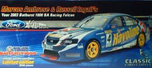 1:18 Classic Carlectable 18123 Ambrose / Ingall Bathurst 2003
