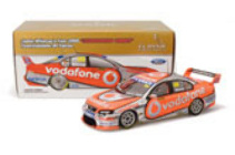 1:18 Classic Carlectable 18377 2008 ATCC Championship Car Whincup (