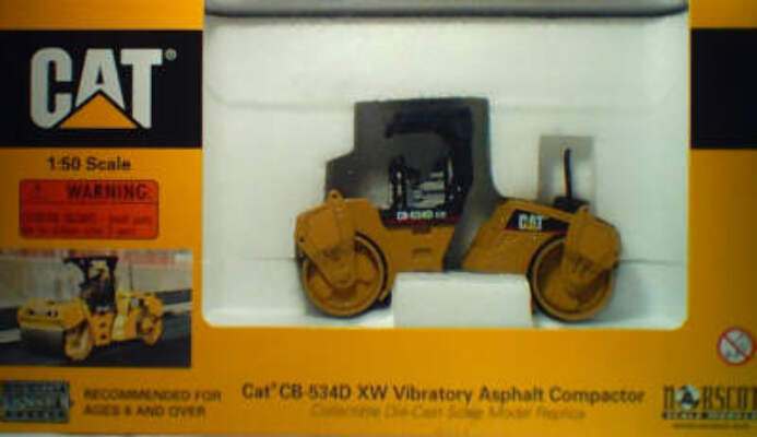 CAT 1:50 CB-534D XW Asphalt Compactor 55132