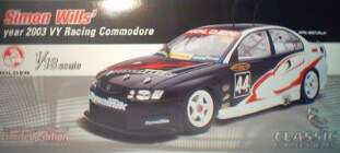 1:18 Classic Carlectable 18096 Simon Wills Dynamik 2003 VY Commodore
