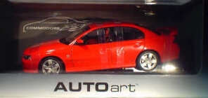 1:18 Biante Holden VY Commodore SS Red Hot 2003
