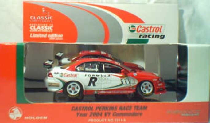 1:43 Classic Carlectables 1011-8 2004 Perkins Motorsport - Richards