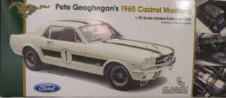 1:18 Classic Carlectable 18136 Ian Pete Geoghegan 1965 Mustang