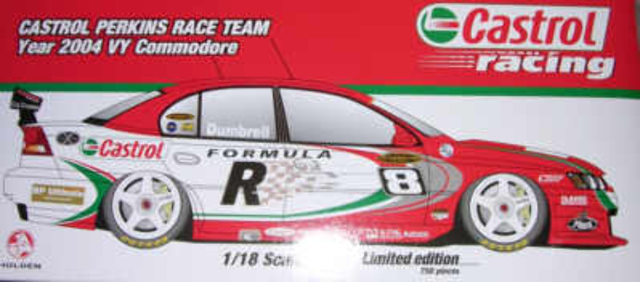 1:18 Classic Carlectable 18133 Paul Dumbrell 2004 VY Commodore