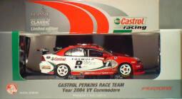 1:43 Classic Carlectables 1007-5 Castrol Perkins 2004 VY Longhurst