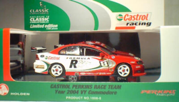 1:43 Classic Carlectables 1008-5 Castrol Perkins 2004 VY Dumbrell