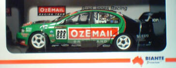 1:18 Biante 2003 BJR BA Falcon John Bowe 888