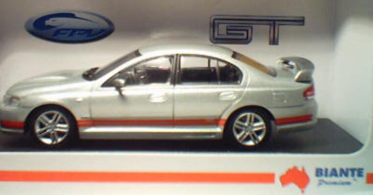 1:43 Biante FPV GT Lighting Strike Orange Stripe