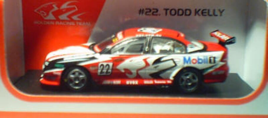 1:64 Biante Holden VY #22 Todd Kelly