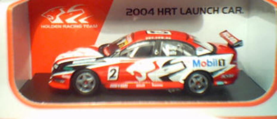 1:64 Biante Holden VY HRT 2004 Launch