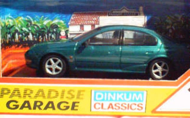 AU XR6 Metalic Green