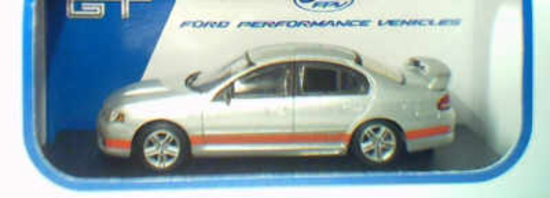1:64 Biante FPV GT Lightning Strike Orange Stripes