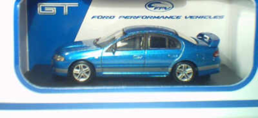 1:64 Biante FPV GT Blueprint Silver Stripes