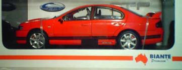 1:18 Biante Ford FPV GT-P Vixen