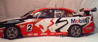 1:18 Biante Holden VY HRT 2004 Mark Skaife