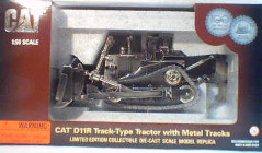 CAT 1:50 D11R Track Type with Metal Tracks - Silver