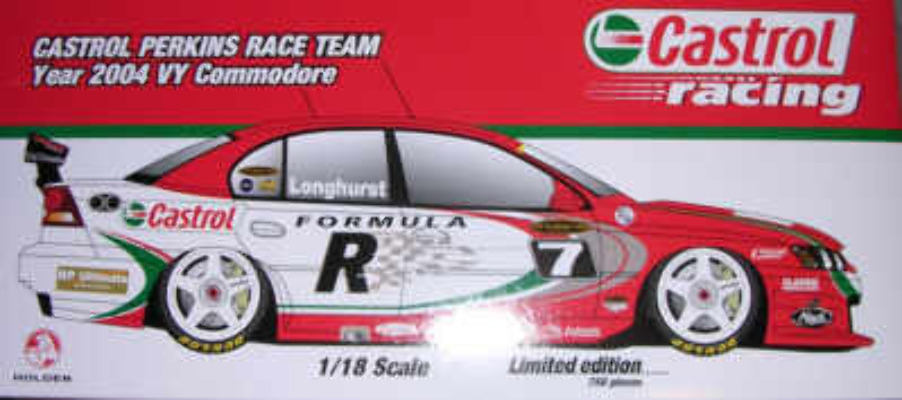 1:18 Classic Carlectable 18134 Tony Longhurst 2004 VY Commodore
