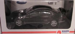 1:18 Biante FPV GT Sedan Silhouette - Silver Stripes