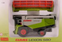 Claas 1:32 Lexion 580 Combine