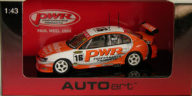 1:43 Biante PWR VY Commodore Paul Weel 2004