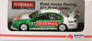 1:43 Biante 2004 BJR #21 Brad Jones