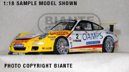 1:18 Biante Porsche 911 Carrera Cup JIM RICHARDS 2006
