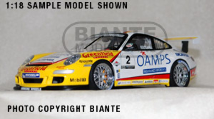 1:18 Biante Porsche 911 Carrera Cup JIM RICHARDS 2006