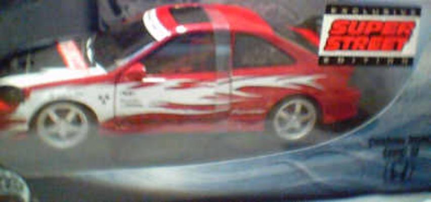 HW 1:18 Custom Honda Civic SI