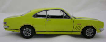 1:18 Biante HK Monaro GTS Warwick Yellow (10/10) Perfect box