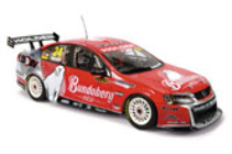 1:18 Classic Carlectable 18384 2009 VE Bunderberg Red David Reynolds