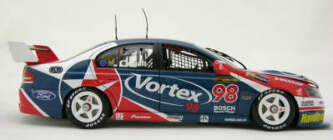 1:18 Classic Carlectable 18171 Russell Ingall 2004 Vortex SBR BA Falcon