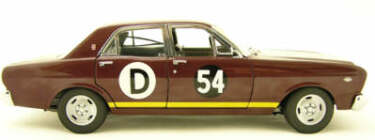 1:18 Classic Carlectable 18085 1967 XR GT Bathurst Falcon #54D Bob Jane/Spencer Martin