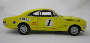 1:18 Classic Carlectable 18153 1971 ATCC Norm Beechey #1 HT Monaro