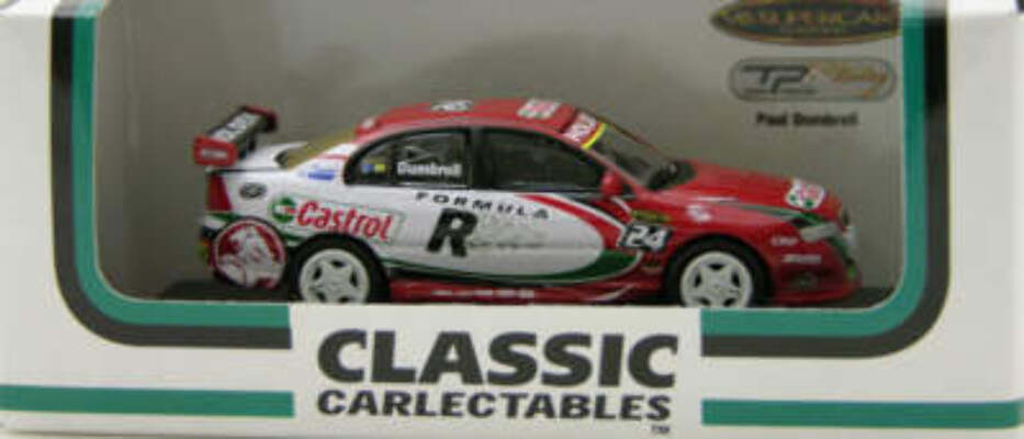 1:64 Classic Carlectables 64074 Paul Dumbrell Holden VY Commodore 2005