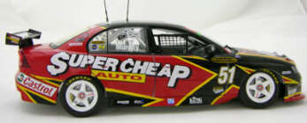 1:18 Classic Carlectable 18179 Greg Murphy 2005 SCAR VZ Commodore