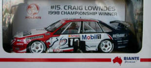1:18 Biante VS Commodore 1998 ATCC Champion Craig Lowndes