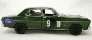 1:18 Classic Carlectable 18086 1968 XT GT Falcon Fred Gibson / Barry Seton 9D