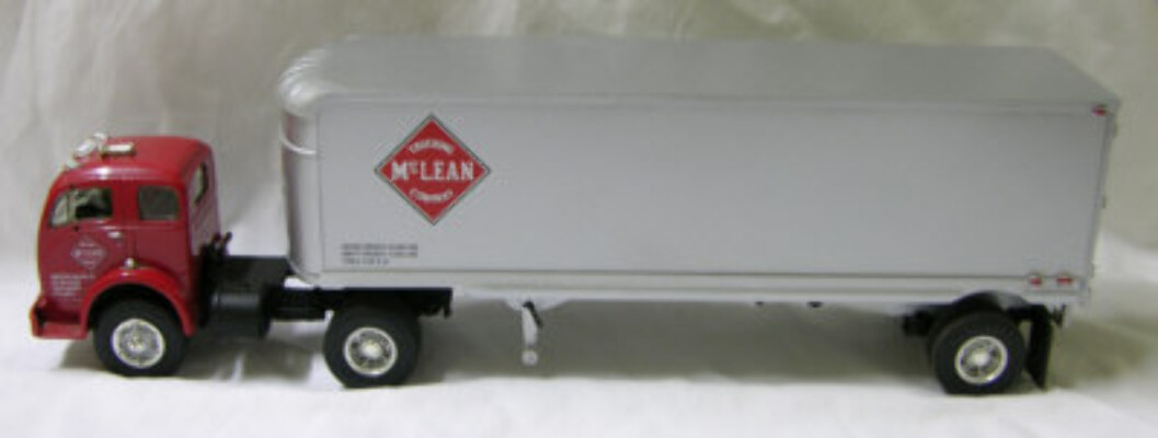 White Semi Trailers - McLean