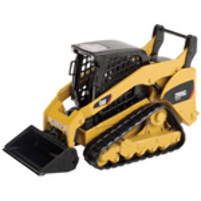 CAT 1:32 55226 299C Compact Track Loader with work tools