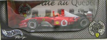HW 1:18 Ferrari 150 Wins Canada GP 2002