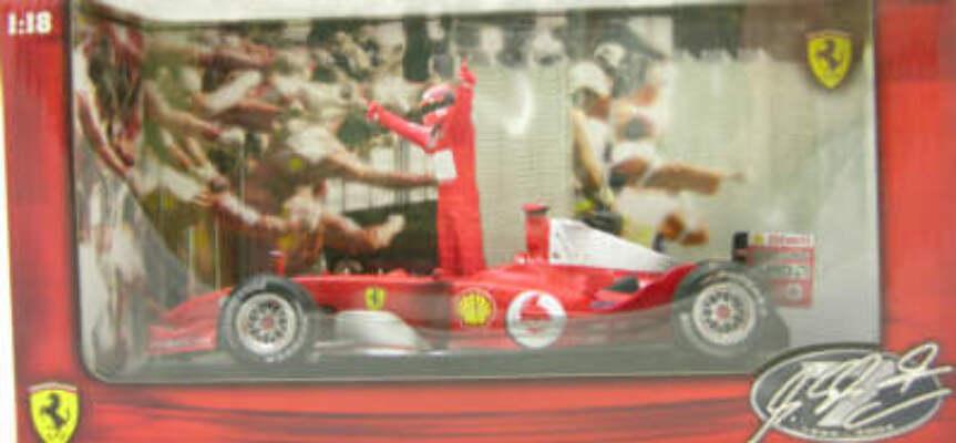HW 1:18 Ferrari 1994-2004 Schmacher