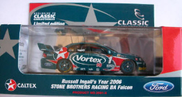 1:43 Classic Carlectables 2001-6 2006 Russell Ingall SBR