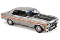 1:18 Classic Carlectable 18408 Ford XW Falcon Phase 1 GT-HO Silver Fox