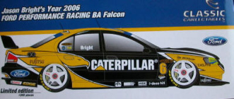 1:18 Classic Carlectable 18244 2006 Jason Bright FPR