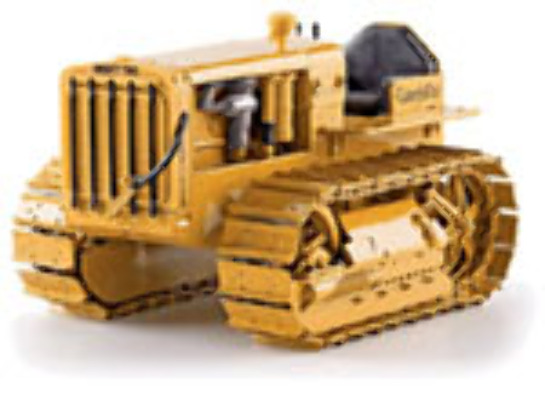 CAT 1:16 22 TRACTOR With metal tracks 55154