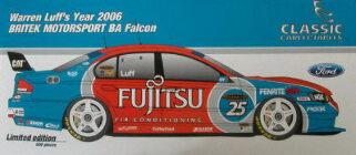 1:18 Classic Carlectable 18254 Luff Britek BA Falcon
