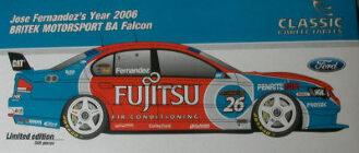 1:18 Classic Carlectable 18255 Fernandez BA Falcon