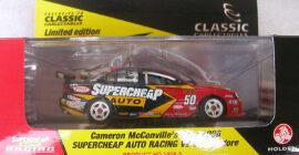 1:43 Classic Carlectables 1050-3 McConville 2006 Supercheap