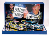 1:18 Classic Carlectable 18240 2005 Ingall/ Lowndes Twin pack 800 made