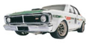 1:18 Classic Carlectable 18210 Ford GT HO Super Falcon Geoghan